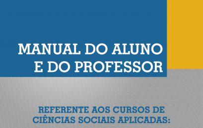Manual do aluno  2016 – segundo semestre